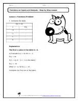 translations reflections rotations worksheets eighth grade math worksheets