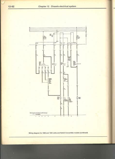 Volkswagen Jettum Electrical Wiring Diagram by Vw Rabbit Forum Quot Need Wiring Diagram For 1980 Rabbit Fan