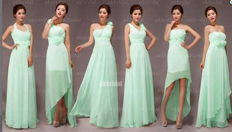 mint bridesmaids dresses mint green bridesmaid dresses