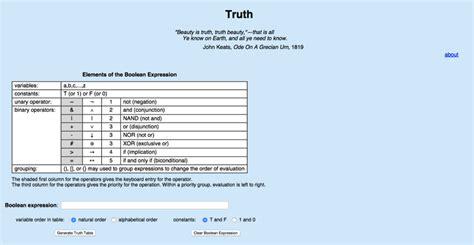 Simuladores Para Tablas Verdad Compartir Palabra Maestra