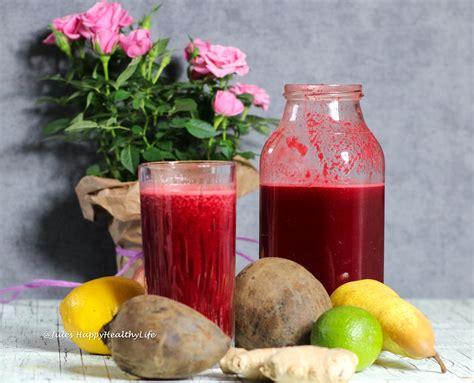 juice ginger detox beetroot