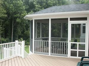 Screen porches screened porch composite decking for Patio porches screened pictures