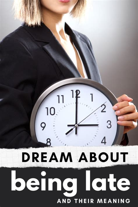 Dreams About Being Late: What Do They Really Mean?