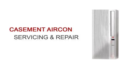 casement aircon servicing repair singapore window aircon