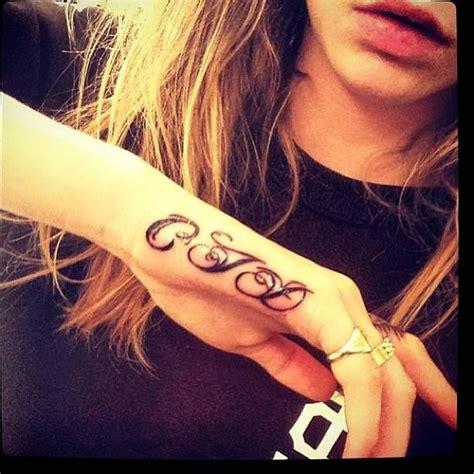 cjd initials inked     caras  hand