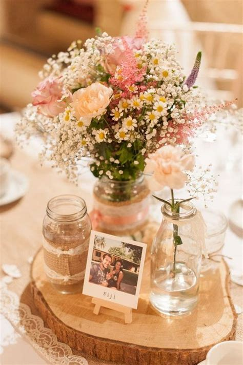 rustic table decorations 100 country rustic wedding centerpiece ideas 2517546 weddbook