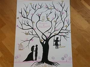 Arbre A Empreinte : mariage arbre empreinte tampon embossage et stic cultura ~ Preciouscoupons.com Idées de Décoration