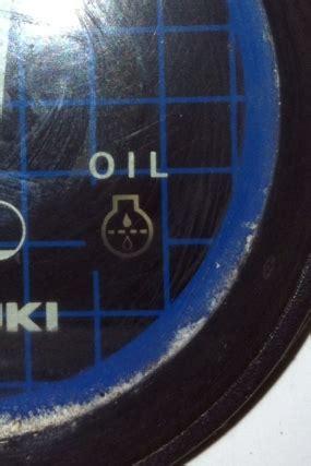 probleme voyant d huile discount marine