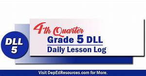 Grade 5 Daily Lesson Log