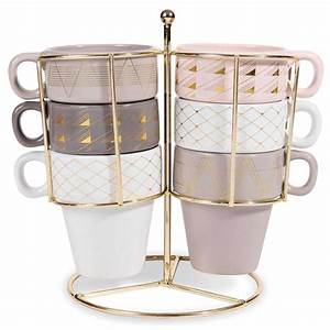 Tasse à Café Avec Support : 6 tasses support en fa ence modern copper id es d co pinterest faience support et tasse ~ Teatrodelosmanantiales.com Idées de Décoration