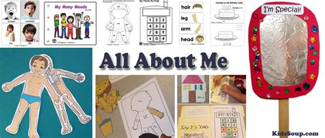 all about me activities crafts and lessons plans kidssoup 412 | All About Me Activities Preschool