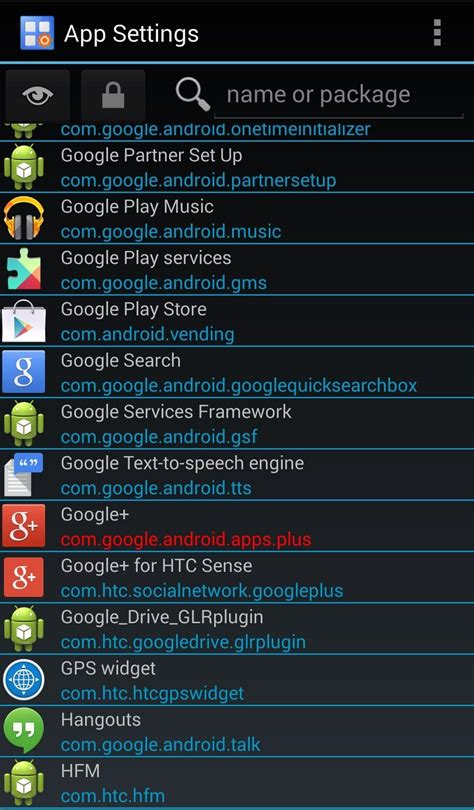 settings app for android how to customize appearance settings for individual