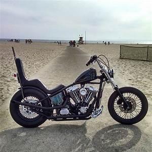 Harley Evo Chopper By  Castle Master  Chopcult  Harleydavidson  Choppershit