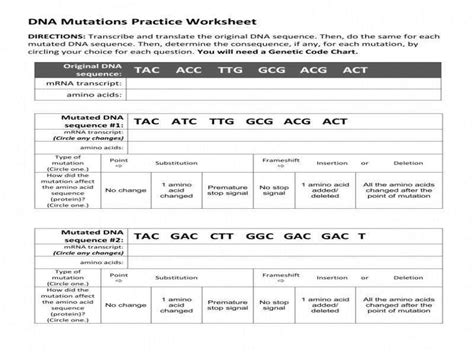 new pogil activities for ap biology answer key genetic mutations start studying genetic mutations pogil. Mutations Pogil Key - 30 Mutations Worksheet Answer Key   Education Template