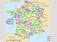 Infos sur departement de france carte Arts et Voyages