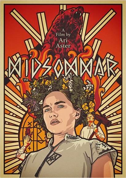 Midsommar Movie Posters Poster Posterspy Horror Alternative