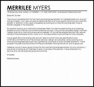 enchanting mechanical engineer resume cover letter ensign With cover letter for mechanical engineer