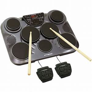 Pyle Pro Pted01 Electronic Table Top Drum Kit Pted01 B U0026h Photo