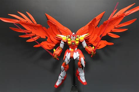 work   day wing gundam  phoenix tail feather