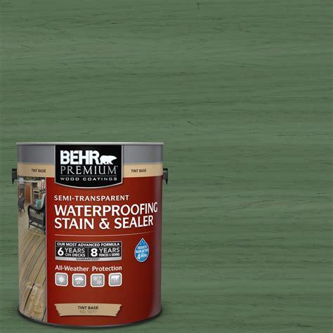 behr premium deck stain behr premium 1 gal st 126 woodland green semi