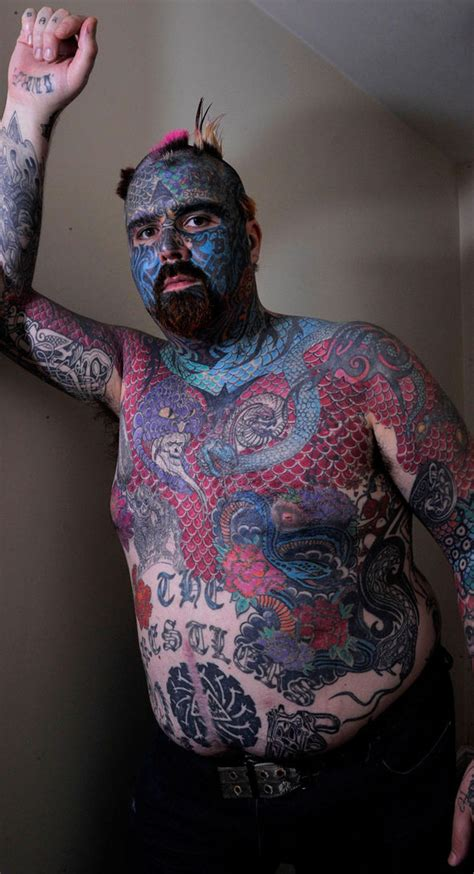 Britains Most Tattooed Man To Get Naked For Brand New Dating Show Tv Radio Showbiz Tv