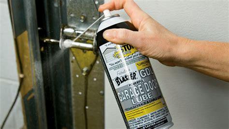 how to lubricate garage door garage door repair wi garage door lubrication