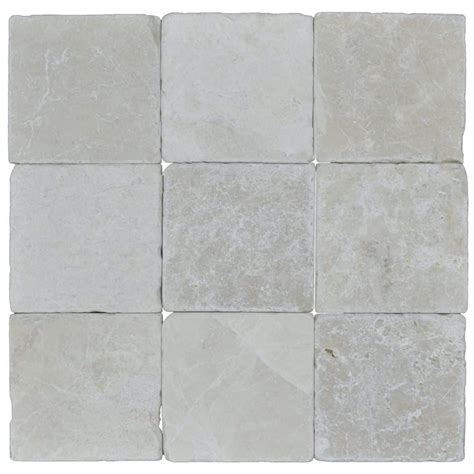 tumbled marble tile botticino beige classic tumbled marble mosaic tiles 4x4