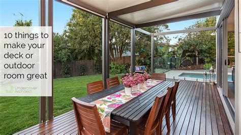 How To Design A Great Deck, Alfresco Or Outdoor Space For