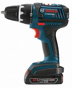 Bosch 18 V : bosch dds181 02 18 volt lithium ion 1 2 inch compact tough drill driver kit with 2 high capacity ~ Frokenaadalensverden.com Haus und Dekorationen