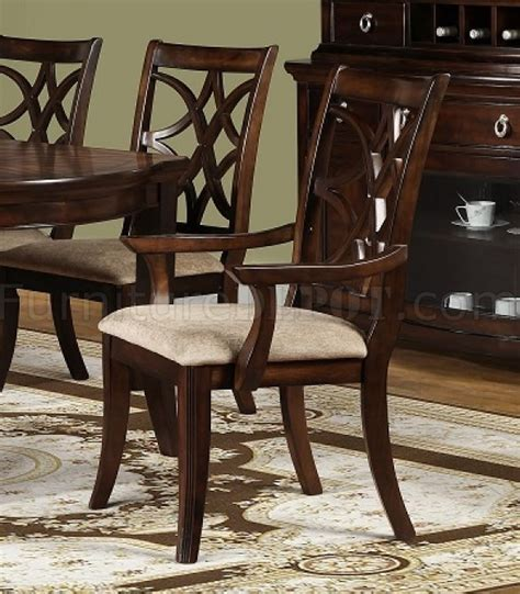 dining table on d550 dining table in pecan w optional items 6717