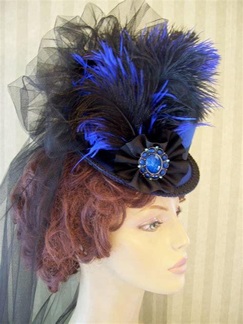 victorian mini top hat steampunk hat halloween hat derby hat
