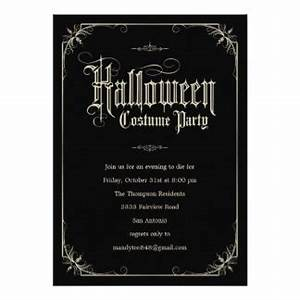 halloween party invitations announcements zazzle canada With halloween wedding invitations canada