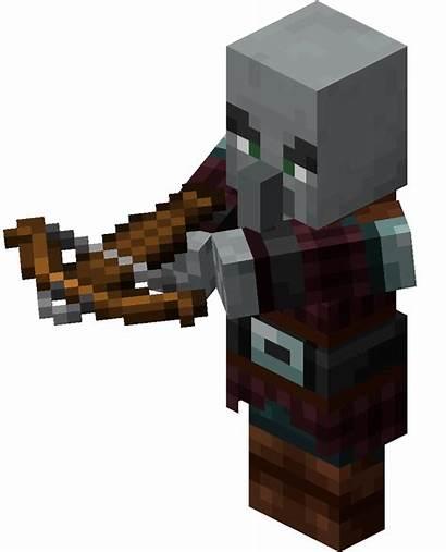 Pillager Minecraft Gamepedia Raid Captain Mobs Wiki