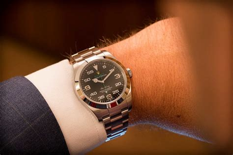 Rolex Oyster Perpetual Air-King Ref. 116900 – Video Review
