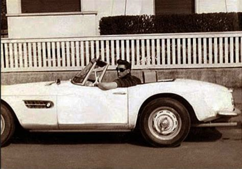 first porsche 356 elvis presley with his 1958 bmw 507 classic cars today