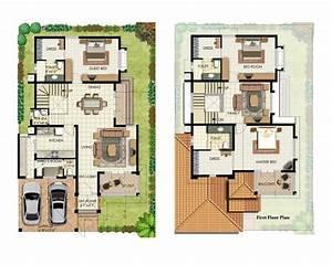 40 feet by 60 feet House Plan - DecorChamp
