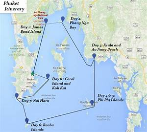 One Week Phuket Itinerary Yacht Charter News And Boating