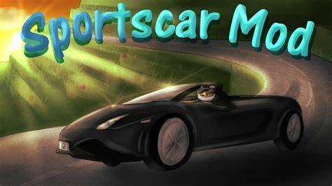 Sports Car Mod Minecraft Car Mod Showcase! (flans Mod