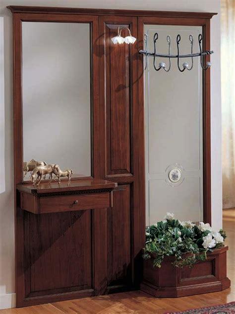 Parete Ingresso - parete ingresso 1 cassetto e fioriera df mobili classici