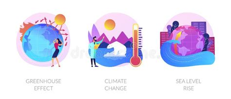 Climate Change Consequences Vector Concept Metaphor. Stock ...