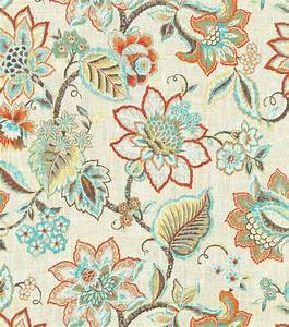 Upholstery Fabric Waverly Floral Fresh Flint Jo-Ann