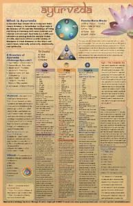 Ayurvedic Chart Ayurveda Posters