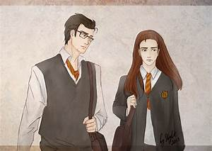 Lily Evans and James Potter on Quality-HP-Fanart - DeviantArt