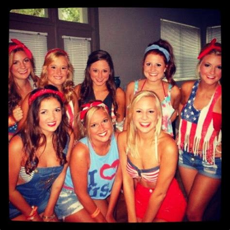 Usa Themed Party Outfit