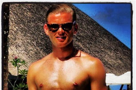 Jeff Brazier Semi Naked Pictures On Australian Beach