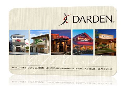 Deals on Gift Cards to Darden Restaurants