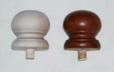 Bed Post Finials by Luxury Bedroom Ideas Unfinished Captain Farrelli