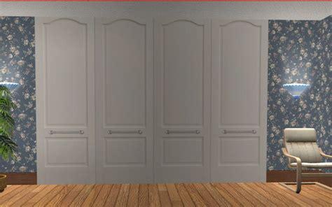 mod  sims wardrobecloset doors deco