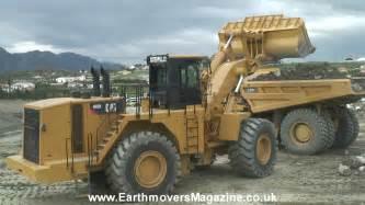 cat loader cat 992k wheel loader test