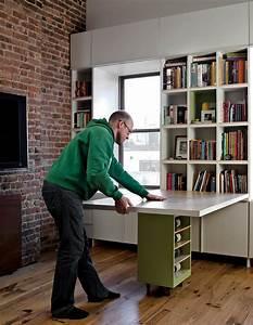 Rollstuhl Für Kleine Wohnungen : enge und kleine r ume einrichten mit modernem klapptisch ~ Lizthompson.info Haus und Dekorationen